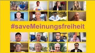 Kampagne der alternativen Medien: es ist 5 VOR 12 #saveMeinungsfreiheit!!!