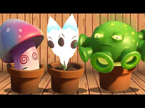 plants-vs.-zombies:-garden-warfare-2---every-spawnable-plant!