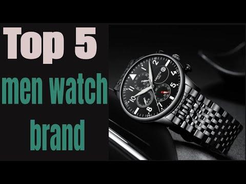 Top 5 Best Men's Watches Brand