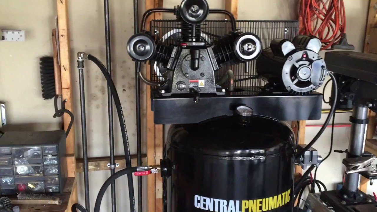 Harbor Freight 60 Gallon Compressor Air Dryer Youtube