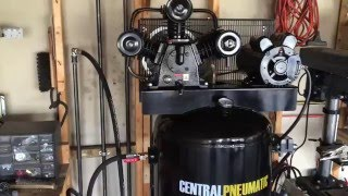 harbor freight 60 gallon compressor air dryer