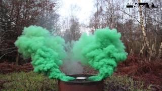 Enola Gaye - BURST Wirepull Smoke Grenade - GREEN