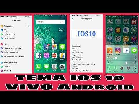 Tema IOS 10 Untuk Vivo Android - Theme Vivo Ios 10 (Tested On Vivo Y55)