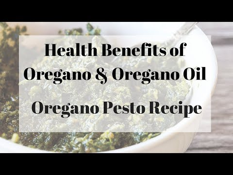 Health Benefits and Uses of Oregano w/ Oregano Pesto Recipe