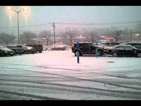 Snow 1/7/11 East Northport, NY
