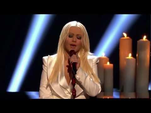 Christina Aguilera - Blank Page & Discurso People's Voice Award 2013 (Subtítulos español)