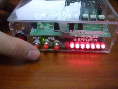 Resultado de imagen para secuenciador de luces