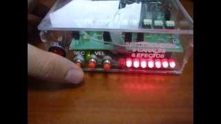 Secuenciador de luces 8 canales 8 efectos