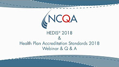 HEDIS and Accreditation Standards Changes 2018
