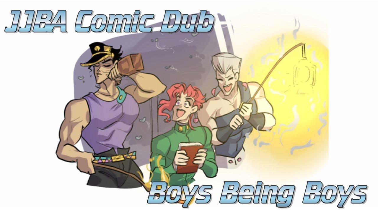 JJBA Comic Dub | Boys being Boys