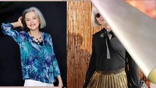 Одежда на осень 2019 женщинам 60+