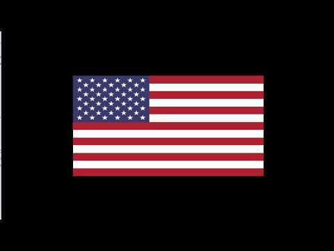 Mandela: USA Flag, Proof/Residue :Effect