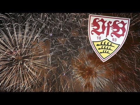 VfB Stuttgart Meister 2016/2017 und Aufstiegs Party