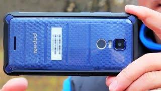 Смартфон POPTEL P10 ☎ самый тонкий корпус  P68 и лучший из недорогих китайцев