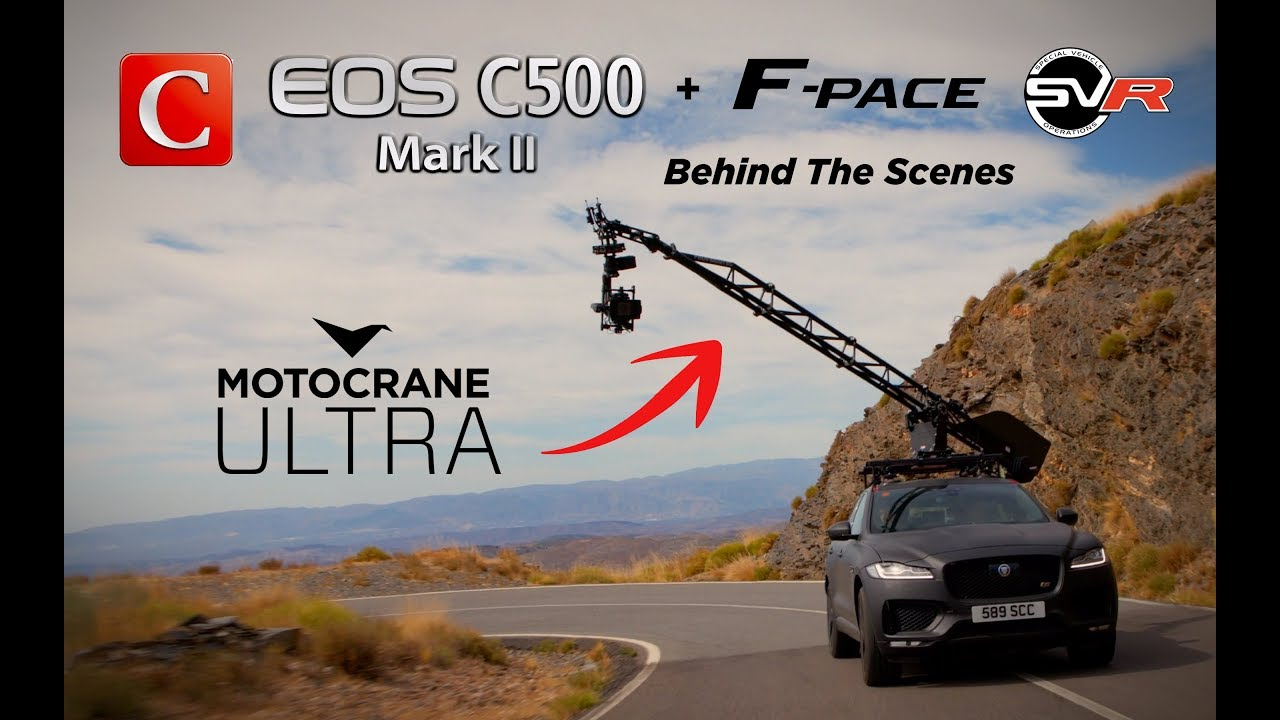 Jaguar F-Pace and F-Pace SVR   Canon - YouTube