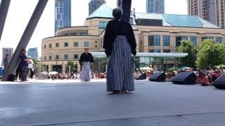 Nihon-kendo-no-kata at the Mississauga Japan Festival July 10, 2016