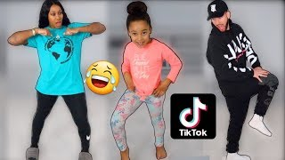 LEARNING VIRAL TIKTOKS FROM 6 YEAR OLD DAUGHTER