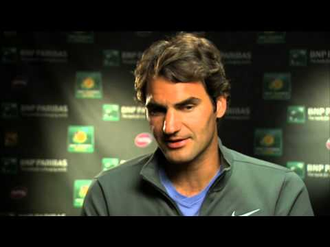 Roger Federer Talks About Tommy Haas Win