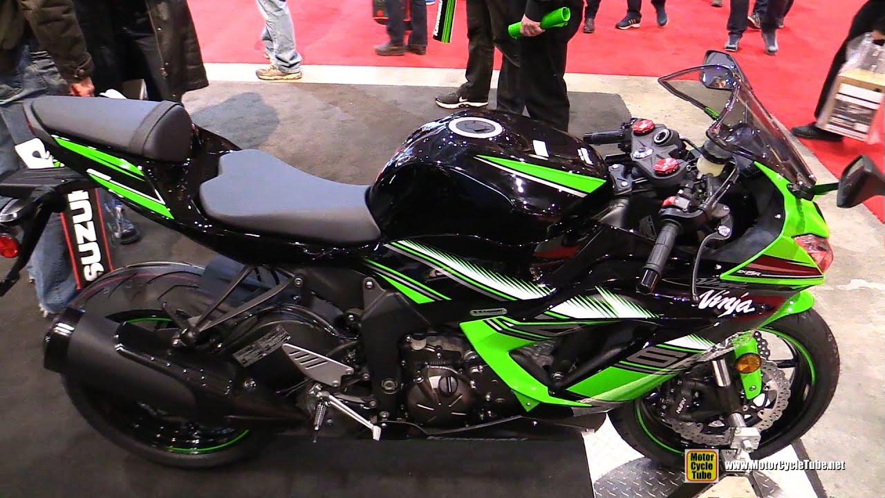 2016 Kawasaki Ninja Zx6r Krt Edition Walkaround 2016 Toronto