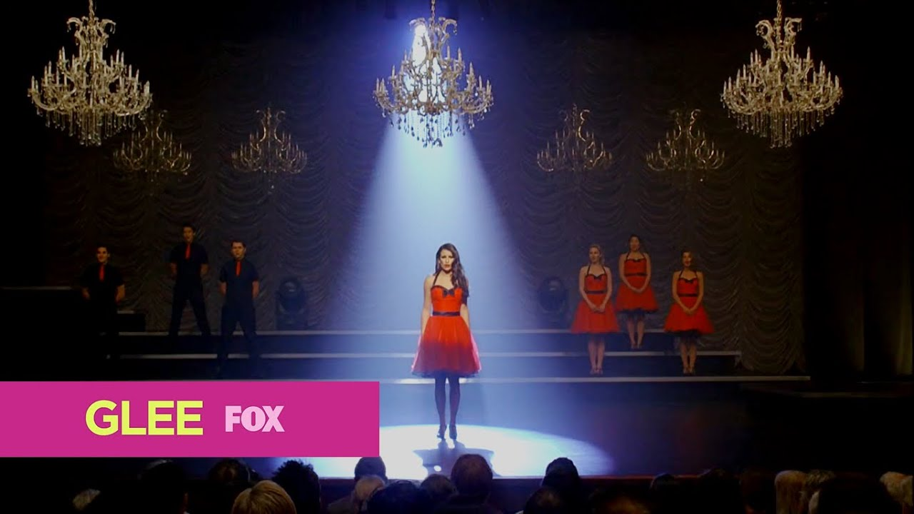 Glee its all coming back to me now (full performance) (Hd)