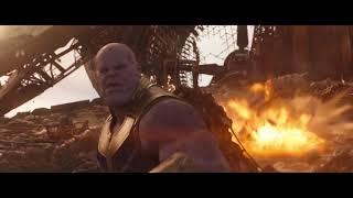 Vengadores: Infinity War de Marvel | Escena: Luchando contra Thanos | HD