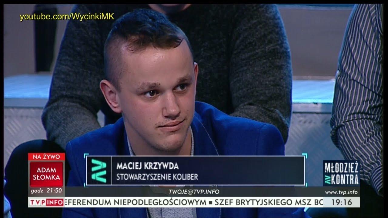 Młodzież kontra 611: Maciej Krzywda (Stow. Koliber) vs Ryszard Czarnecki (PiS) 30.09.2017