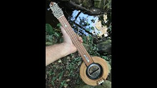 Cover of 'Stray Cat Strut' by the Stray Cats on Moore Ukulele #134 The Cat Bowl Resonator