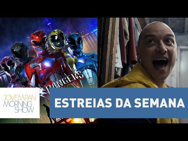Power Rangers, Trainspotting 2, Fragmentado: as boas estreias da semana