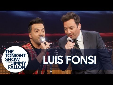 "Luis Fonsi and Jimmy Rewrite ""Despacito"" with Random Lyrics"