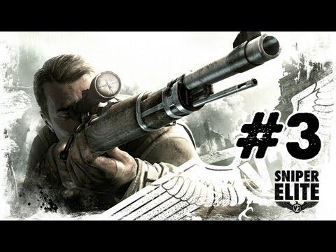 Sniper Elite V2 - Gameplay Walkthrough - Part 3 - Schonenberg Streets [Mission 2] (Xbox/PS3/PC)