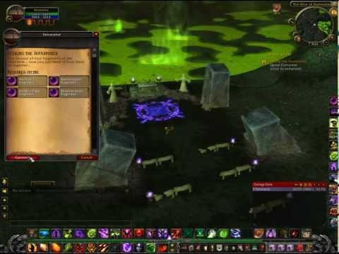 WoW MoP - Warlock Green Fire Questline Part 1