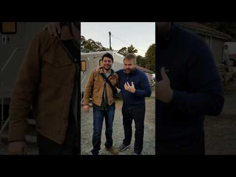 Patrick Fugit & Robert Kirkman Commentling On The Season Premier of The Walking Dead!