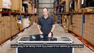 Titan-AV-Server-Rack Zubehör - Teil 2 Cooling Fans