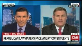 Republican Lawmakers face angry constituents What does it mean What will change Panel debate