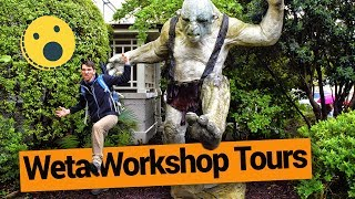 Weta Workshop Tours in Wellington - New Zealand's Biggest Gap Year - Backpacker Guide New Zealand