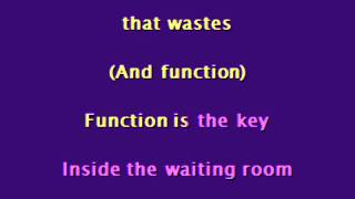 Fugazi - Waiting Room [Karaoke]