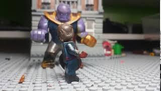 Battle Of Wakanda Clip: Thanos Vs Captain America