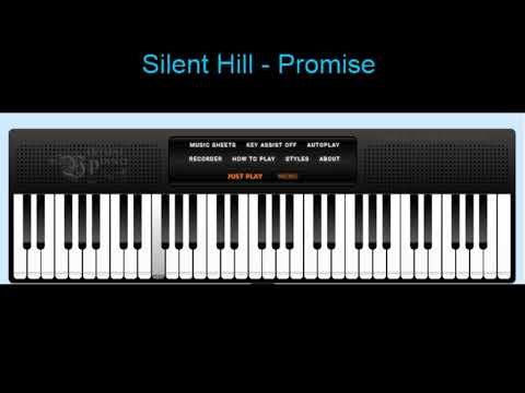Silent Hill - Promise (Virtual Piano Cover)