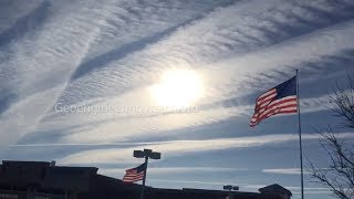 Toxic Skies, Blatant Geoengineering Over Michigan, USA