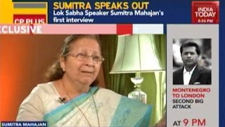 To The Point: Speaker Sumitra Mahajan On The Monsoon Session