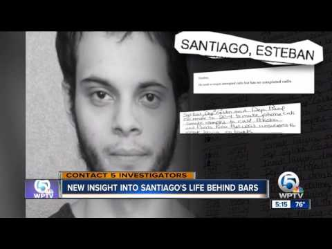 Jail records reveal more about Esteban Santiago