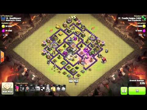 TH8 Base Beat - Dragon Flower | Octagon3120 [Zoo Clanimals] |GoHoWiWi