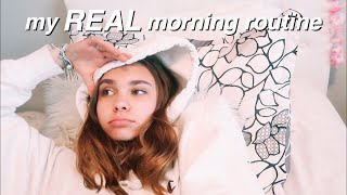 my REAL school morning routine (sophomore year)