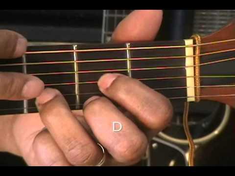 Guitar Chord Form Tutorial #22B How To Play Basic Chords Am D G Em C ...