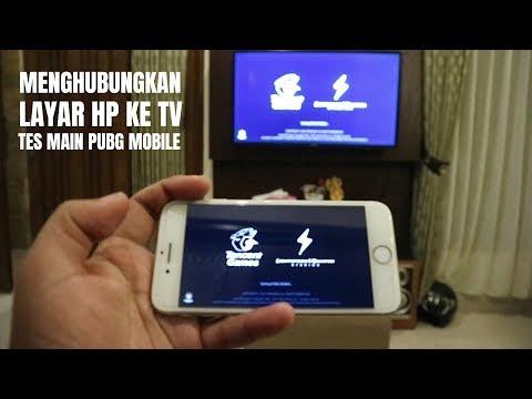 Cara Nyambungin HP ke TV Untuk Main Game PUBG dan Youtube - 동영상