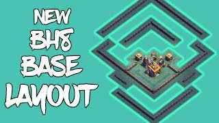 [NEW] BUILDER HALL 8 BASE LAYOUT W/ REPLAY | COC BEST BH8 BASE | CLASH OF CLANS