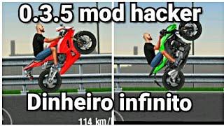 Moto wheelie 0.3.5 mod hacker / dinheiro infinito / motos liberadas