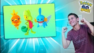 GENERATION 3 IS OFFICIALLY ALMOST HERE IN POKÉMON GO!