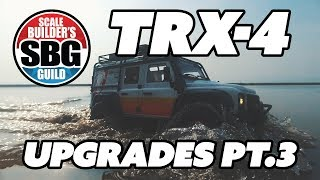 TRX 4 Shapeways Upgrades Part 3