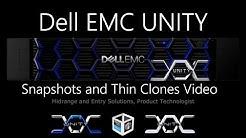 Dell EMC Unity - Snapshots and Thin Clones